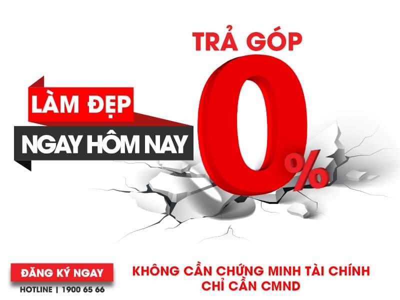 Ưu Đãi Trả Góp 0% - Làm đẹp không lo xẹp ví - chuyengianangnguc.vn