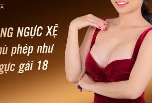 Nâng ngực xệ - Phù phép ngực như gái 18 - Chuyên gia nâng ngực