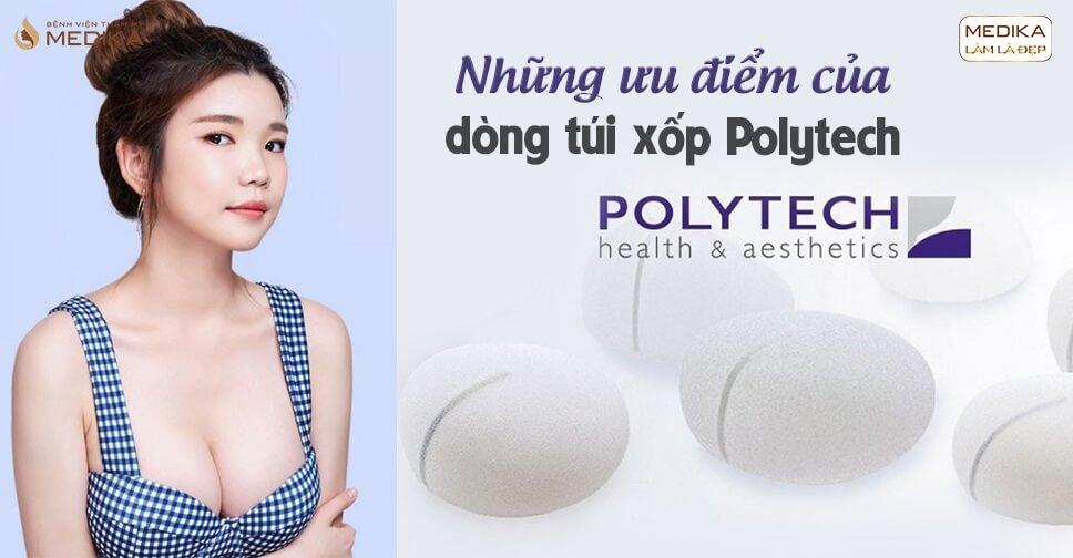 Những ưu điểm của túi xốp Polytech tại Chuyên gia nâng ngực