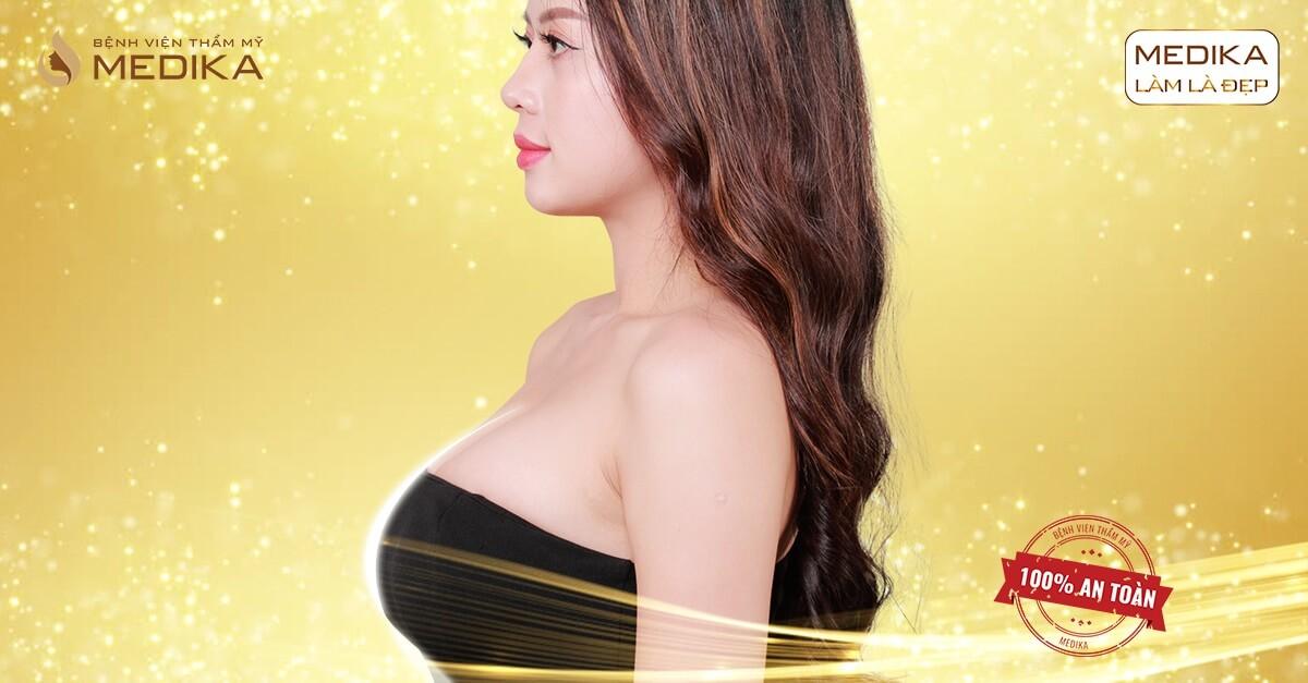 Nâng vòng 1 đau ít hay nhiều dựa vào cách đặt túi độn ngực tại Chuyengianangnguc.vn